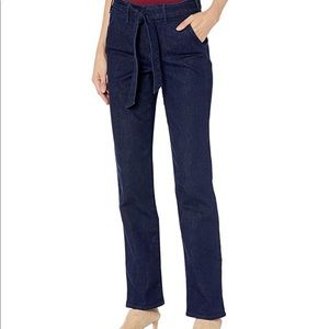 NYDJ Marilyn Straight with Trouser Details